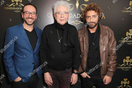 Editorial image of Comendador opening night party, Silva, Lisbon - 03 Feb 2017