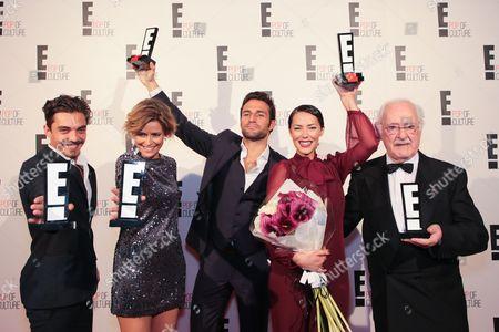 José Mata, Leonor Poeiras, Jose Fidalgo, Sofia Ribeiro and Ruy de Carvalho