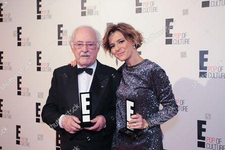 Stock Photo of Ruy de Carvalho and Leonor Poeiras