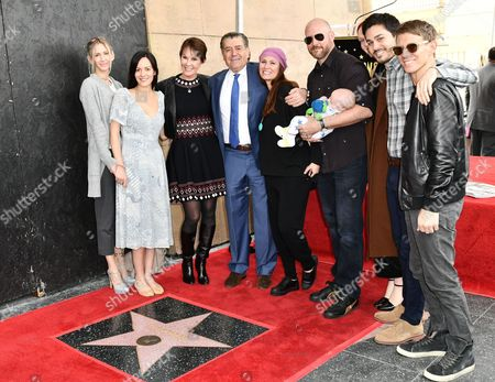 Editorial image of Haim Saban honored with star on The Hollywood Walk of Fame, Los Angeles, USA - 22 Mar 2017