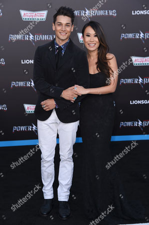 Editorial image of 'Power Rangers' film premiere, Arrivals, Los Angeles, USA - 22 Mar 2017