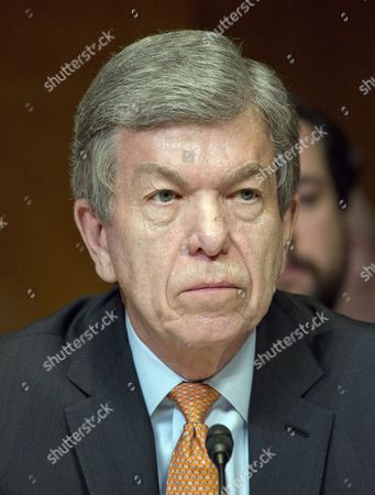 "United States Senator Roy Blunt (Republican of Missouri) listens as US Secretary of Defense James N. Mattis and the Chairman of the Joint Chiefs of Staff, US Marine Corps General Joseph F. Dunford, Jr.testify at a US Senate Committee on Appropriations Subcommittee on Defense hearing entitled ""A Review of the Budget & Readiness of the Department of Defense"""
