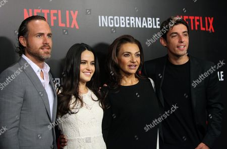 Editorial photo of Photocall for new series Ungovernable in Mexico City - 22 Mar 2017
