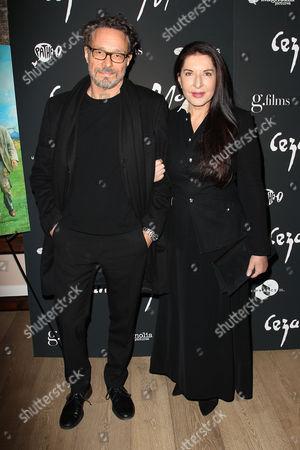 Stock Picture of Marco Brambilla and Marina Abramovic