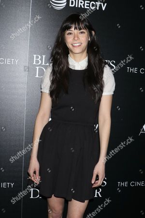 Editorial image of 'The Blackcoat's Daughter' film premiere, Arrivals, New York, USA - 22 Mar 2017