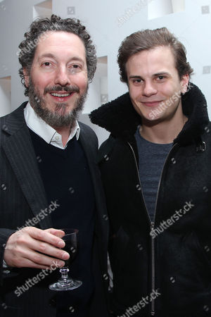 Stock Picture of Guillaume Gallienne and Nicolas Messica