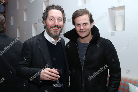 Stock Image of Guillaume Gallienne and Nicolas Messica