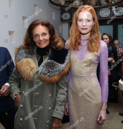 Diane von Furstenberg and Jessica Joffe