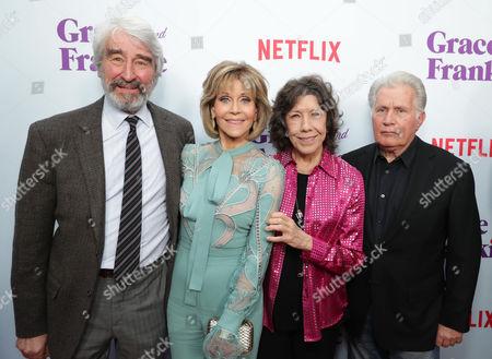 Sam Waterston, Jane Fonda, Lily Tomlin, Martin Sheen