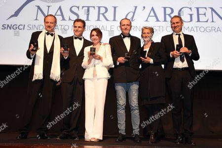 Stock Image of Stefano Reali and Pino Quartullo