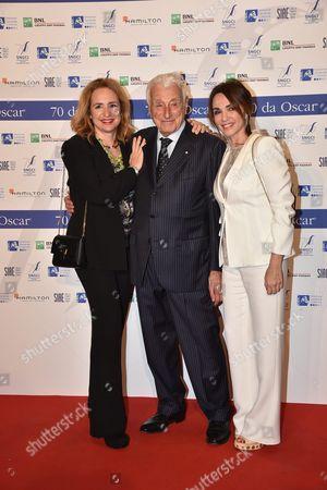 Editorial image of '70 Anni Dei Nastri D'Argento' musical gala, Rome, Italy - 22 Mar 2017