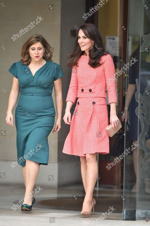 CEO and Founder of Best Beginnings, Alison Baum and the Catherine Duchess of Cambridge