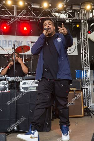 David Jolicoeur of De La Soul performs in concert