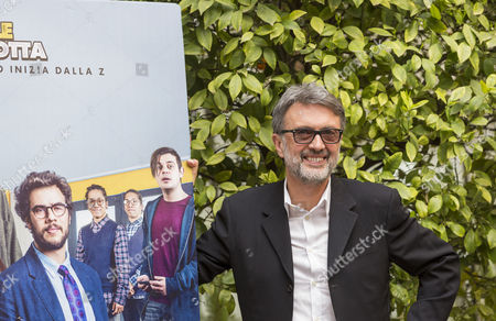 Stock Image of Director Guido Chiesa