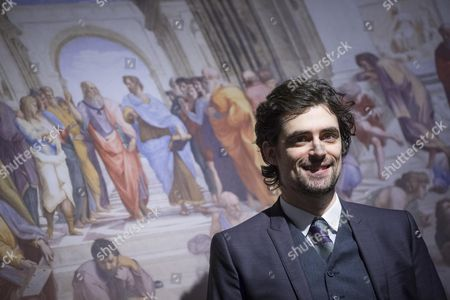 Editorial picture of Raphael - The Prince of Arts in 3D movie presentation in Rome, Italia - 23 Mar 2017