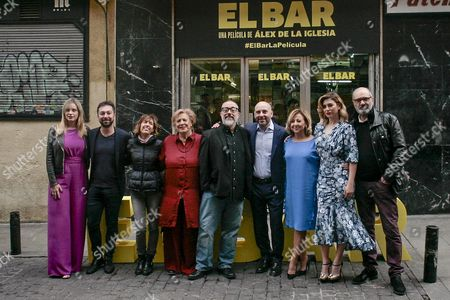 Editorial image of 'El Bar' photocall, Madrid, Spain - 22 Mar 2017