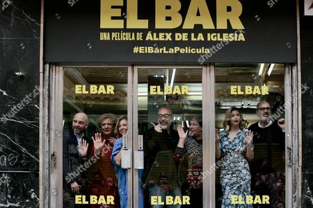 Editorial picture of 'El Bar' photocall, Madrid, Spain - 22 Mar 2017