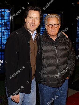 Stock Image of Ramon Estevez and father Martin Sheen