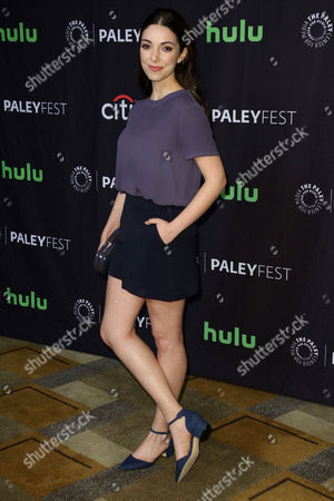Editorial image of 'Orphan Black' presentation, Arrivals, Paleyfest, Los Angeles - 23 Mar 2017