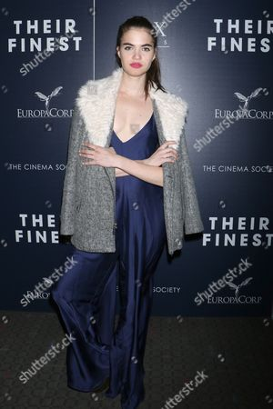 Editorial image of 'Their Finest' film premiere, Arrivals, New York, USA - 23 Mar 2017
