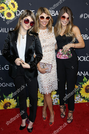 Lori Loughlin and daughters Bella Giannulli (left) and Olivia Giannulli (right)