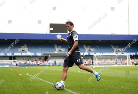 New signing Nico Kranjcar of QPR trains at the Fans Open day, and training session, at Loftus Road
