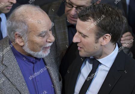 Editorial photo of Emmanuel Macron visits the 2017 Paris Book Fair, France - 24 Mar 2017