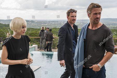 Rooney Mara, Michael Fassbender, Ryan Gosling