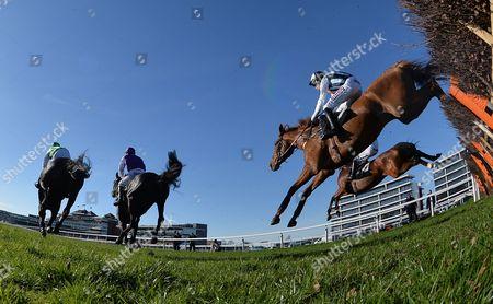 Editorial photo of Horse Racing from Newbury, UK - 25 Mar 2017