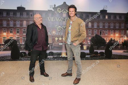 Stock Image of Bruno Schiappa and Ricardo Trepa