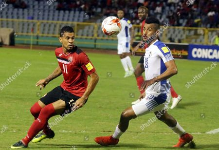 Editorial image of Trinidad and Tobago vs. Panama, Puerto Espana - 24 Mar 2017