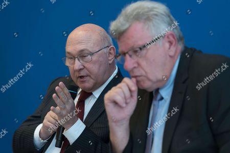 Michel Sapin and Christian Eckert