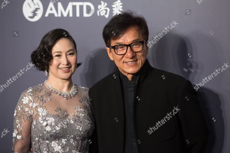 Pansy Ho and Jackie Chan