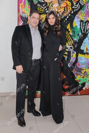 Mario Ferreira and Sara Sampaio