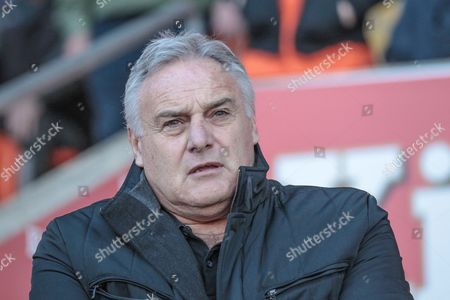 Dave Jones (Manager) (Hartlepool United) before the EFL Sky Bet League 2 match between Blackpool and Hartlepool United at Bloomfield Road, Blackpool