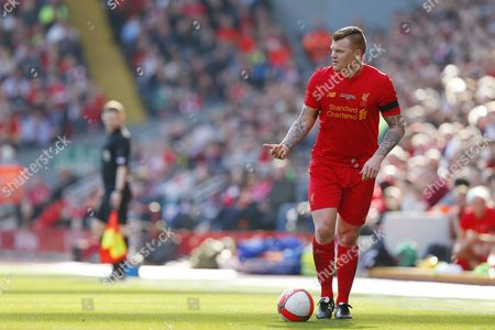 John Arne Riise during the LFC Foundation Charity match between Liverpool Legends and Real Madrid Leyendas played at Anfield, Liverpool, on 25th March 2017