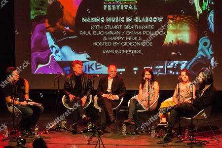 Gideon Coe in conversation with Emma Pollock, Stuart Braithwaite