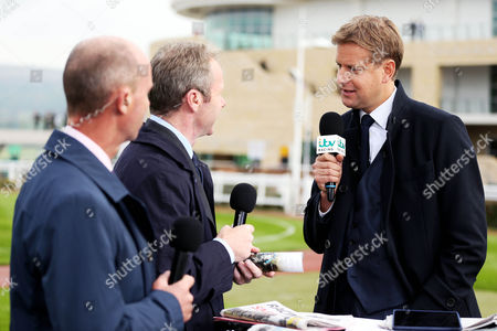 Racing Experts Luke Harvey and Mick Fitzgerald with Presenter Ed Chamberlin