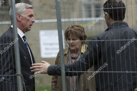 Brenda Blethyn as DCI Vera Stanhope, Stuart Graham as Alan Marston and Kenny Doughty as DS Aiden Healy.