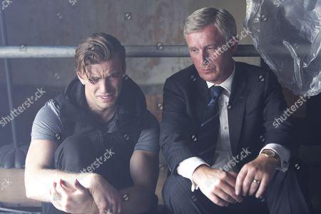 Chris Gordon as Rory Marston and Stuart Graham as Alan Marston.