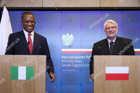 Geoffrey Onyeama and Witold Waszczykowski