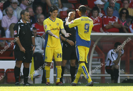 Ben Parker replaces Jermaine Beckford of Leeds United