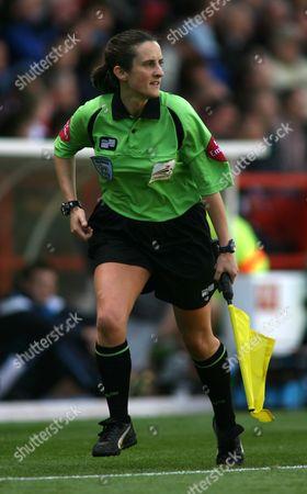 Amy Rayner - woman linesman