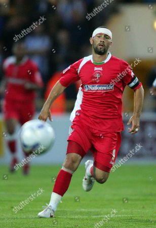 Stock Picture of Christian Roberts of Swindon Town