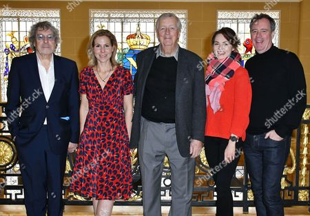 Stock Photo of Ian La Frenais, Sally Phillips, Dick Clement, Kara Tointon, Vadim Jean