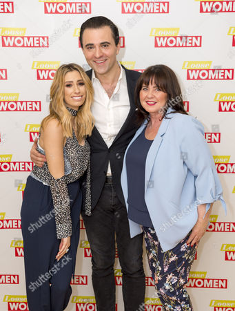 Stacey Solomon, Darius Campbell and Coleen Nolan