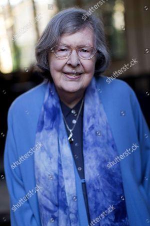 Booker Prize winning novelist Dame Penelope Lively.