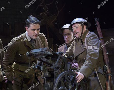 James Dutton as Captain Roberts, Dan Tetsell as Sergant Tyler