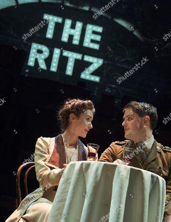 Stock Photo of Emelia Williams as Kate Roberts, James Dutton as Captain Roberts,