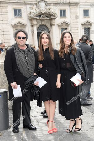 Enzo Avitabile with Angela and Marianna Fontana